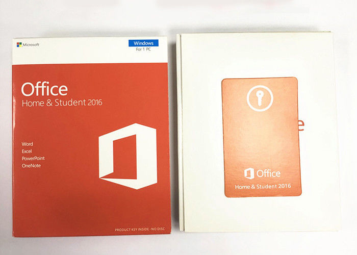 English Microsoft Office Home And Student 2016 Product Key No Disk Pkc Version Retail Box